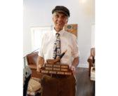 """Jim """"Wally"""" Koss, won the """"Bogey"""" Award at the NHC"""